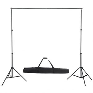 studio photo maison toile fond télescopique vida xl
