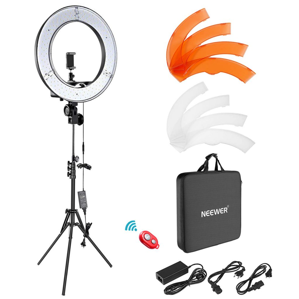 studio photo ring light Neewer